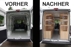 fahrzeuginnenausbau innenausbau wohnmobil wohnwagen boot yacht verkaufswagen. Black Bedroom Furniture Sets. Home Design Ideas