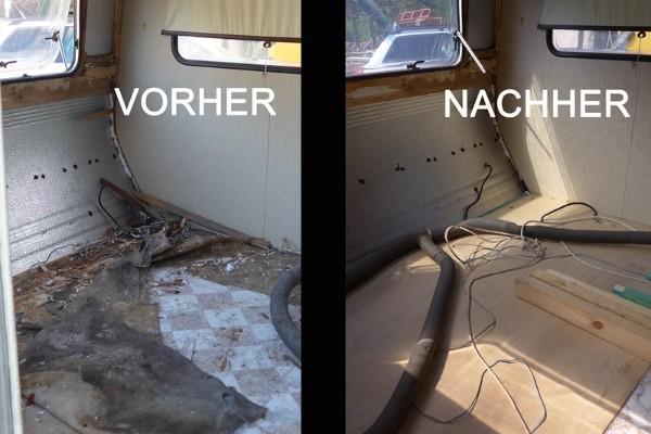 wohnwagen renovieren austausch unterboden tipps
